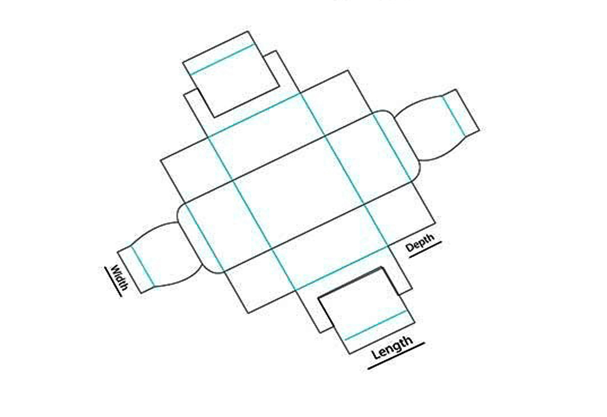 Double wal frame tray