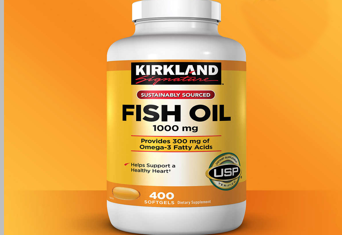 Fish Oil Boxes