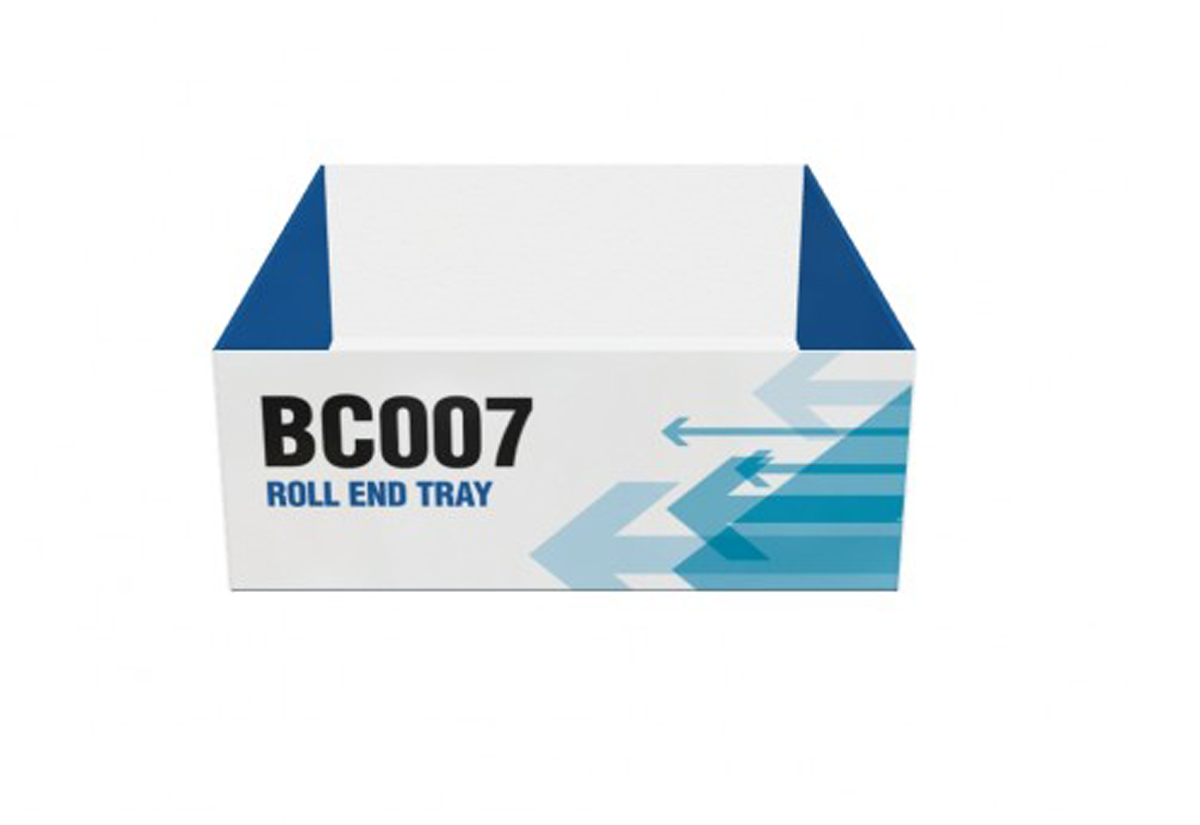 Roll End Tray