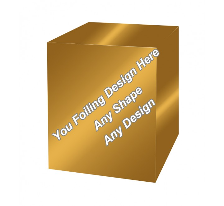 Golden Foiling - Mobile Accessory Packaging Boxes