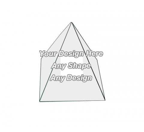 Window - Pyramid Shape Boxes